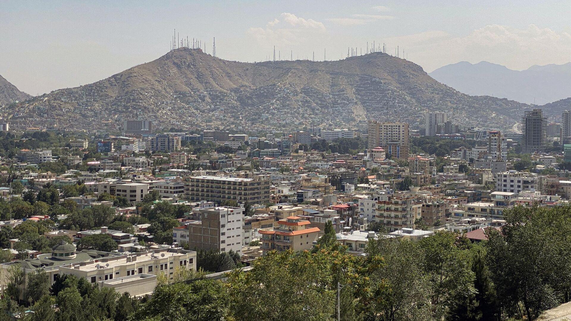 Вид на город Кабул - Sputnik Тоҷикистон, 1920, 07.10.2021