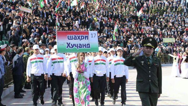 Осенний призыв: Согд отправил в ряды Вооруженных сил страны первую группу новобранцев - Sputnik Таджикистан