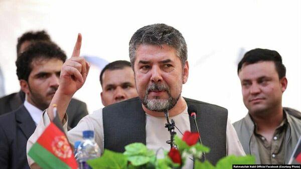Рахматулла Набил, бывшый глава службы безопасности Афганистана - Sputnik Тоҷикистон