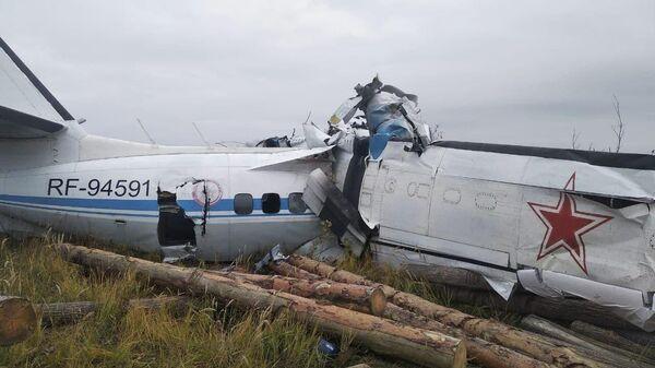 Крушение самолета L-40 под Мензелинском - Sputnik Таджикистан