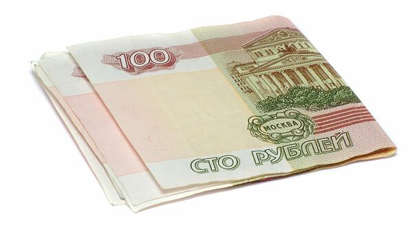 Купюры номиналом сто рублей - Sputnik Таджикистан