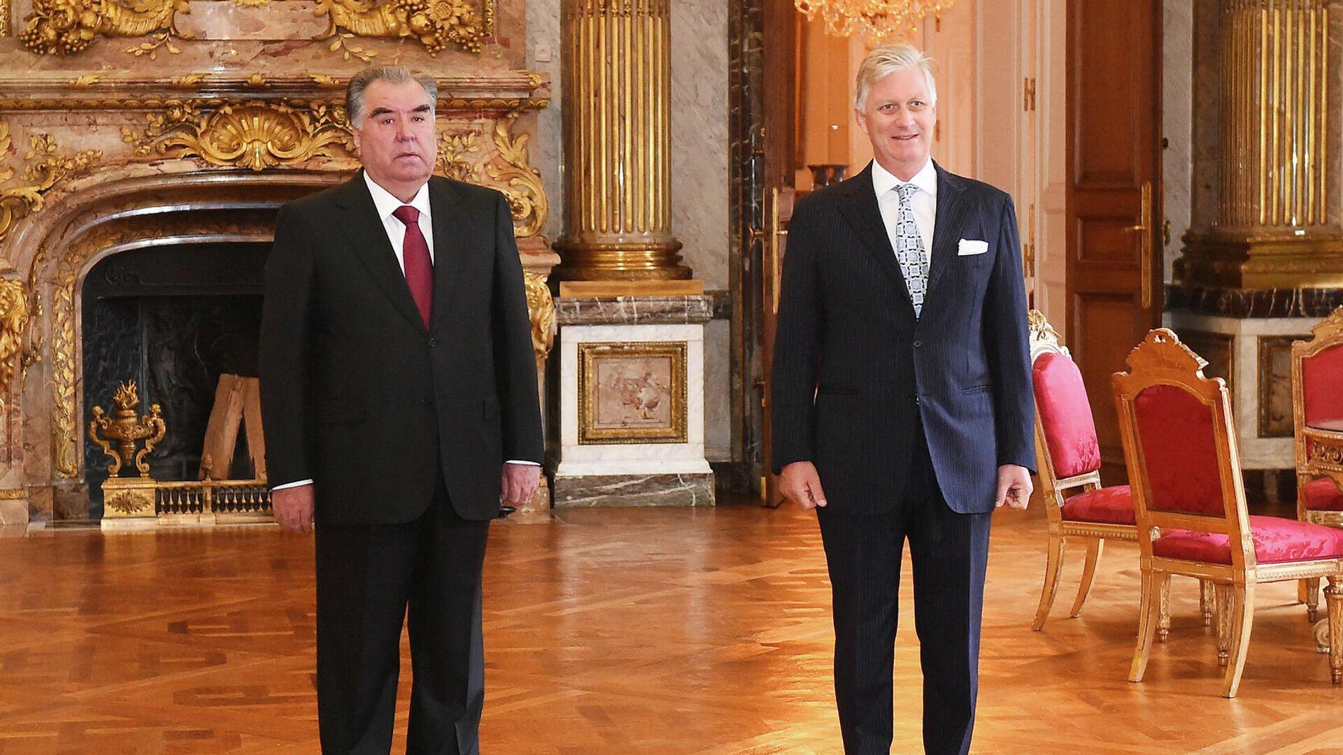 Встреча Эмомали Рахмона с королем Бельгии Филиппом - Sputnik Таджикистан, 1920, 12.10.2021