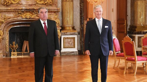 Встреча Эмомали Рахмона с королем Бельгии Филиппом - Sputnik Таджикистан