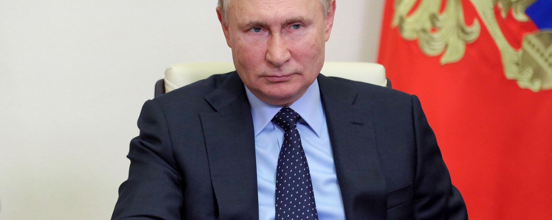 Президент России Владимир Путин  - Sputnik Таджикистан, 1920, 12.10.2021