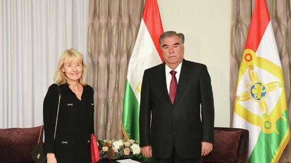 Встреча со спецпредставителем ЕС по Центральной Азии Тери Хакала - Sputnik Тоҷикистон