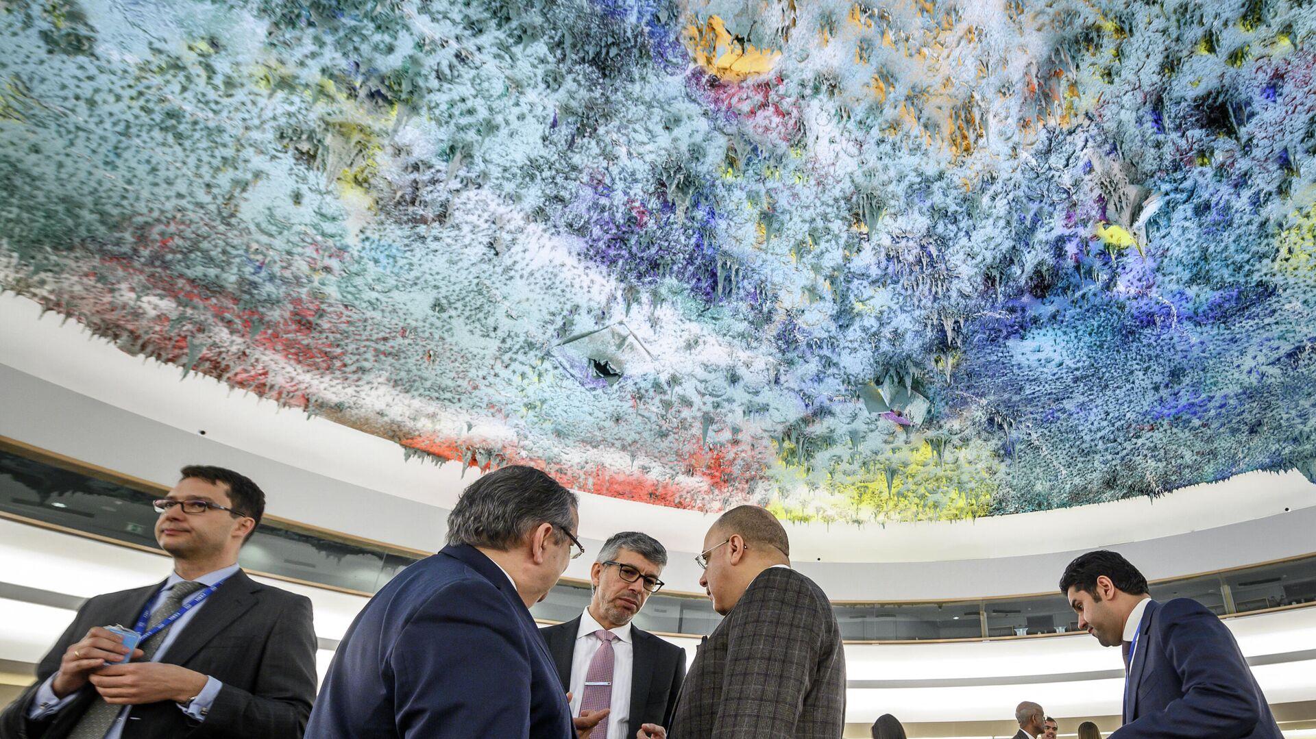Заседание Совета по правам человека ООН в Женеве - Sputnik Таджикистан, 1920, 13.10.2021