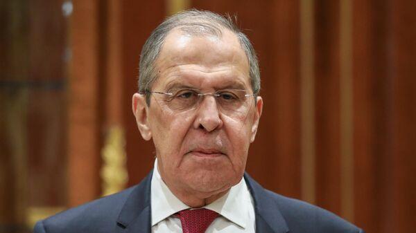 Министр иностранных дел России Сергей Лавров  - Sputnik Таджикистан