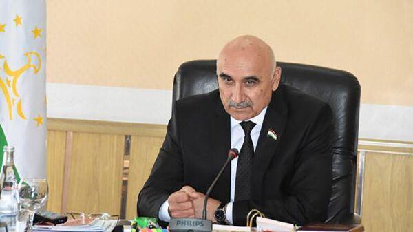 Махмадтоир Зокирзода, глава Маджлиси намояндагон, нижняя палата парламента Таджикистана - Sputnik Тоҷикистон