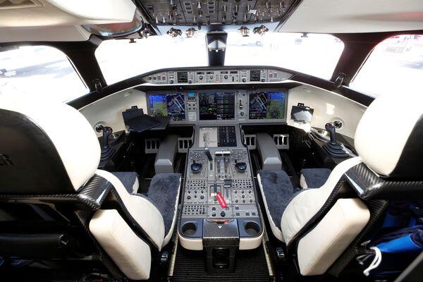 """Дохили """"VistaJet Global 7500"""". - Sputnik Тоҷикистон"""