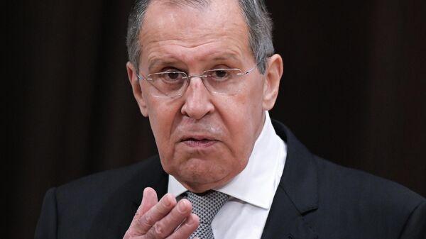 Министр иностранных дел РФ Сергей Лавров - Sputnik Таджикистан