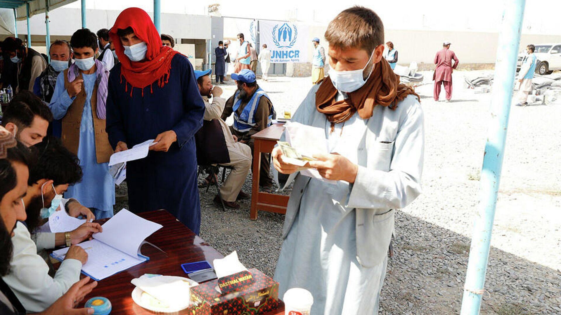 В Узбекистан прибыл первый борт с гумпомощью для Афганистана