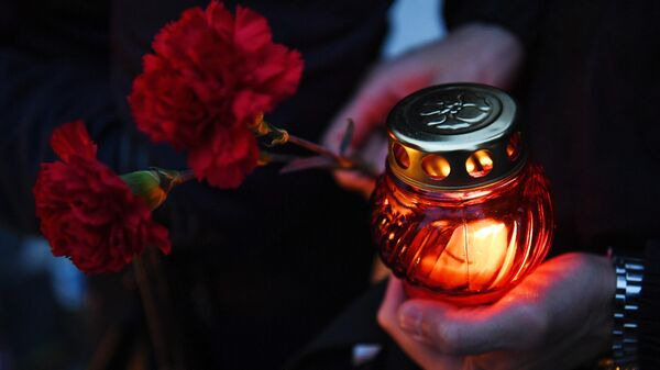 Траурная церемония  - Sputnik Таджикистан