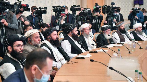 Представители политического совета движения Талибан - Sputnik Таджикистан