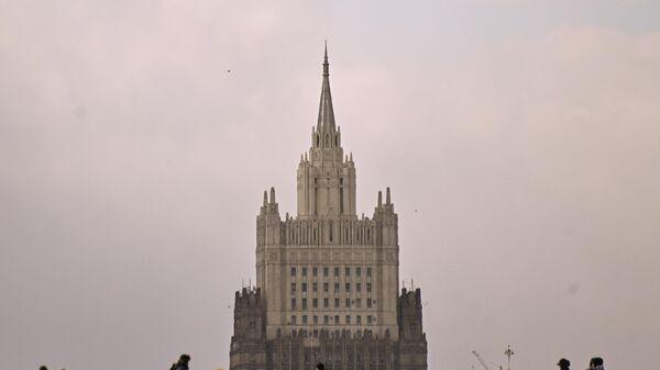 Здание Министерства иностранных дел РФ - Sputnik Таджикистан