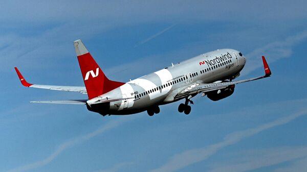 Самолет авиакомпании Nordwind Airlines - Sputnik Таджикистан