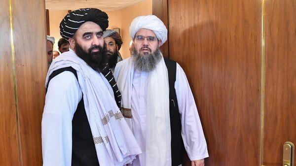 Делегация талибов в Москве - Sputnik Таджикистан