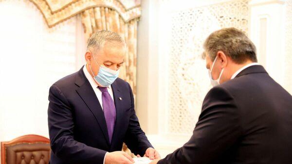Глава МИД принял нового посла Беларуси в Таджикистане - Sputnik Таджикистан