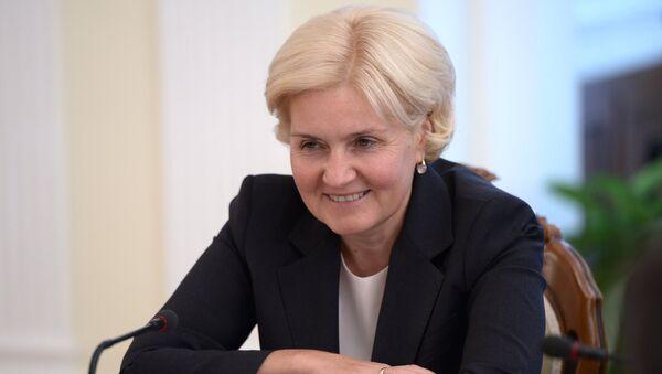 Заместитель председателя правительства Российской Федерации Ольга Голодец, архивное фото - Sputnik Таджикистан