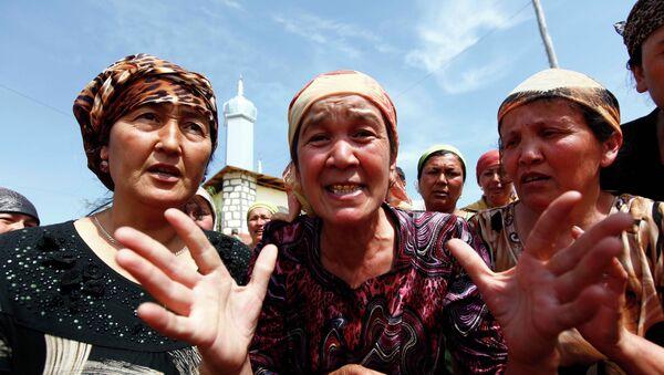 На границе с Узбекистаном - Sputnik Таджикистан