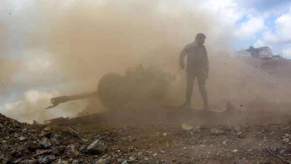 Ситуация в Сирии, архивное фото - Sputnik Таджикистан
