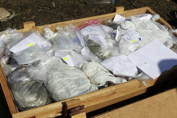 Утилизация крупной партии наркотиков в Казани - Sputnik Таджикистан