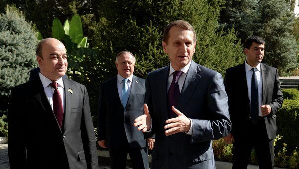 Визит председателя Госдумы РФ С.Нарышкина в Таджикистан - Sputnik Таджикистан