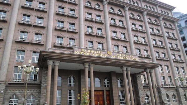 Здание МИД РТ в Душанбе. Архивное фото - Sputnik Таджикистан
