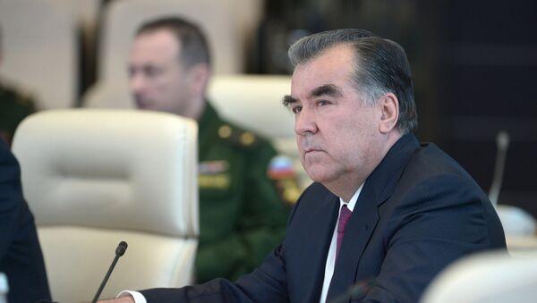 Э. Рахмон. Архивное фото - Sputnik Таджикистан