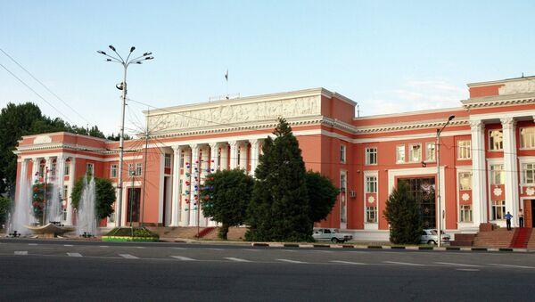 Здание парламента Республики Таджикистан. Фото из архива - Sputnik Таджикистан
