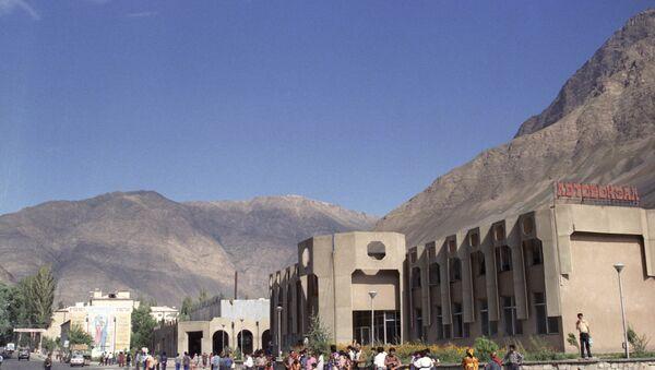 Хорог - главный город таджикского Памира. Фото из архива - Sputnik Тоҷикистон