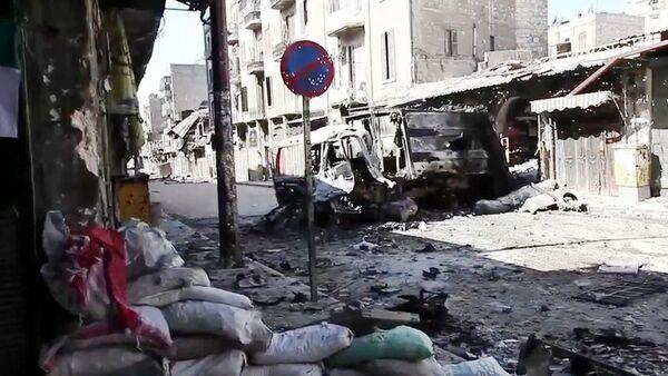 Ситуация в Алеппо, Сирия, архивное фото - Sputnik Таджикистан