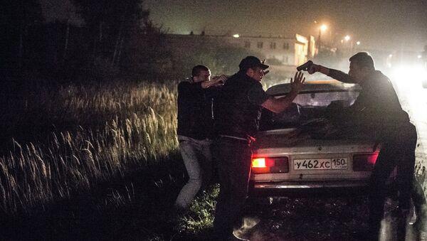 Стритрейсеры на ночных рейдах по поиску банды ГТА. Архивное фото - Sputnik Таджикистан