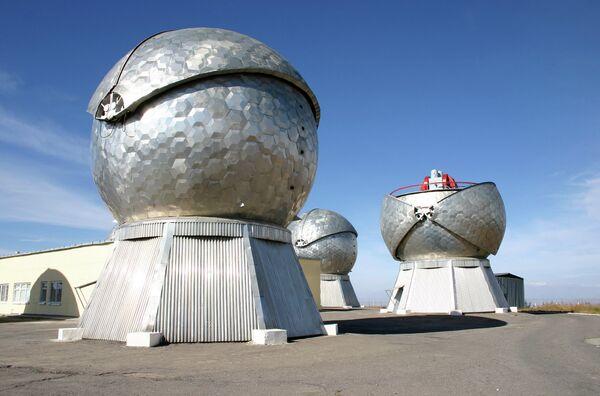 Оптико-волоконный комплекс Нурек на горе Санглок. Архивное фото - Sputnik Таджикистан