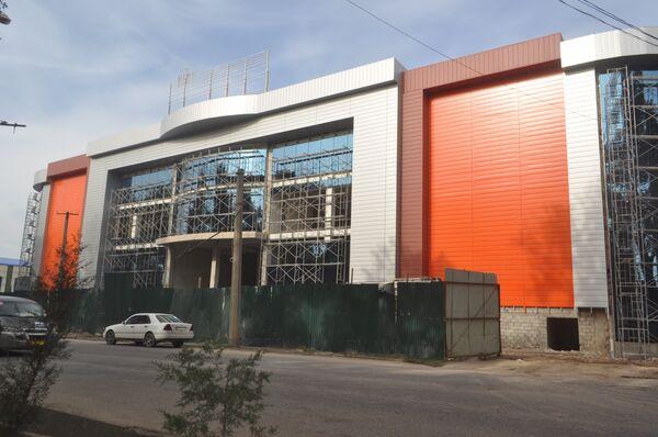 Строительство  Ашан в Душанбе - Sputnik Таджикистан