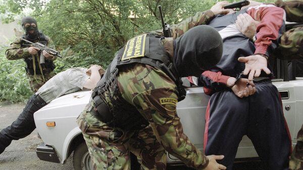 Задержание наркодилеров, архивное фото - Sputnik Таджикистан