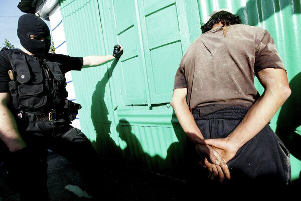 Задержание наркоторговца. Архивное фото - Sputnik Таджикистан