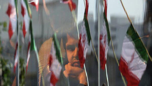 Флаги Ирана. Архивное фото - Sputnik Таджикистан