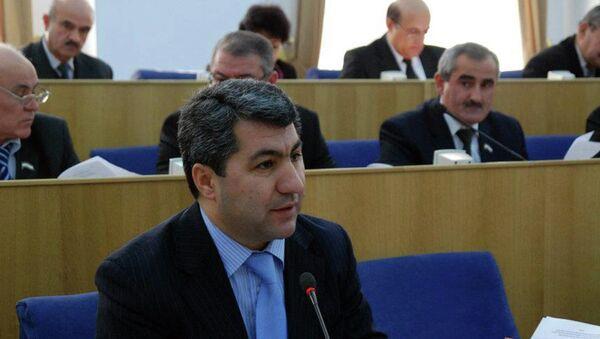 Мухиддин Кабири в парламенте. Архивное фото - Sputnik Таджикистан