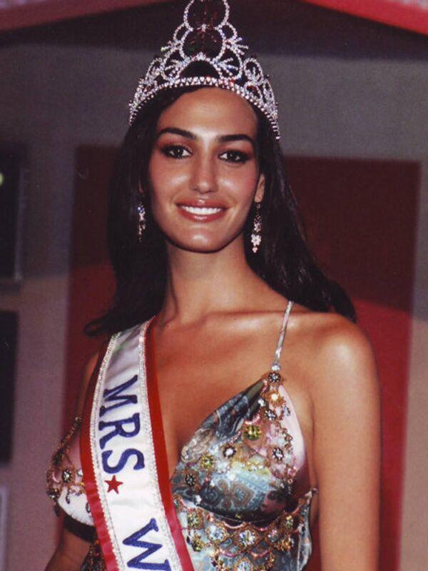 Миссис мира - 2005. Сима Бахар (Израиль). Фото с официального сайта Mrs. World - Sputnik Таджикистан
