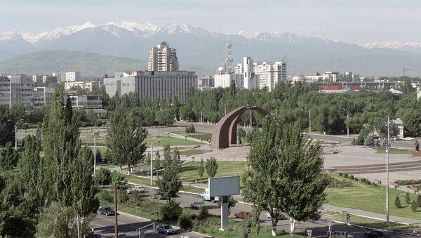 Бишкек. Акс аз бойгонӣ - Sputnik Тоҷикистон