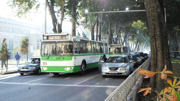 Транспорт Душанбе. Архивное фото - Sputnik Таджикистан