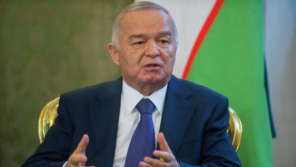 Президент республики Узбекистан И. Каримова, архивное фото - Sputnik Таджикистан