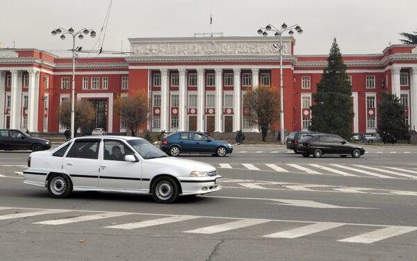 Здание парламента Таджикистана. Архивное фото - Sputnik Таджикистан