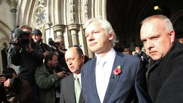 Основатель сайта Wikileaks Джулиан Ассанж. Архивное фото - Sputnik Таджикистан
