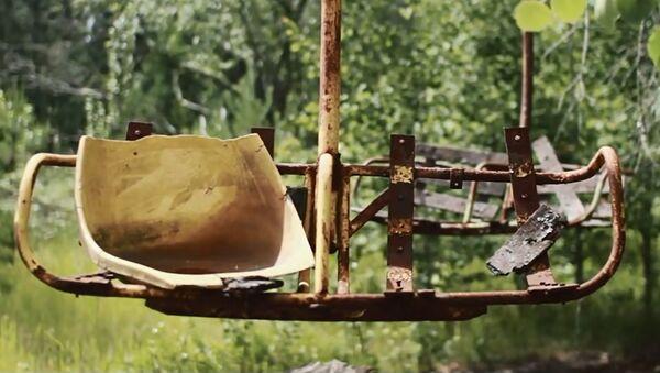 Навори видеоӣ аз Чернобил тариқи ҳавопаймои бесарнишин - Sputnik Тоҷикистон