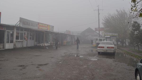Туман в Душанбе 28 ноября - Sputnik Тоҷикистон