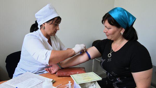 Профилактике и борьба со СПИДом. Архивное фото - Sputnik Таджикистан