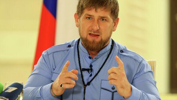 Встреча Рамзана Кадырова с журналистами - Sputnik Таджикистан