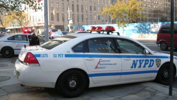 Автомобили полицейского управления Нью-Йорка, архивное фото - Sputnik Тоҷикистон