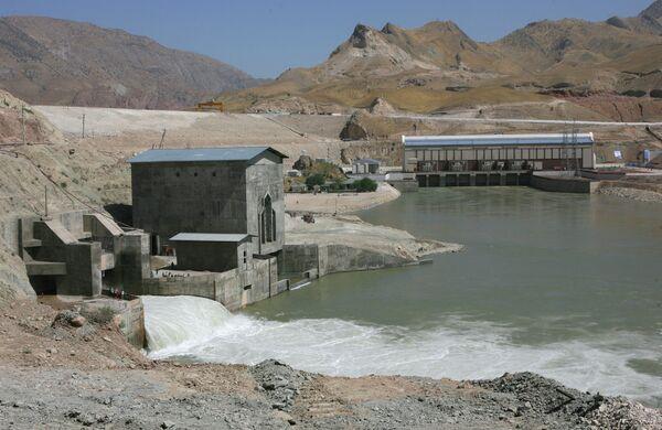 Сангтудинская ГЭС-1 на реке Вахш в Таджикистане. Архивное фото. - Sputnik Таджикистан